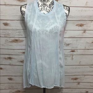 Anthropologie Cloth & Stone Hi Lo Tank Tunic Top